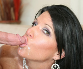 wifesnewlover.com, hot milfs taking messy facials from young studs